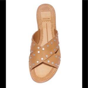 NIB DOLCE VITA CASTA Sandal in Caramel 7.5